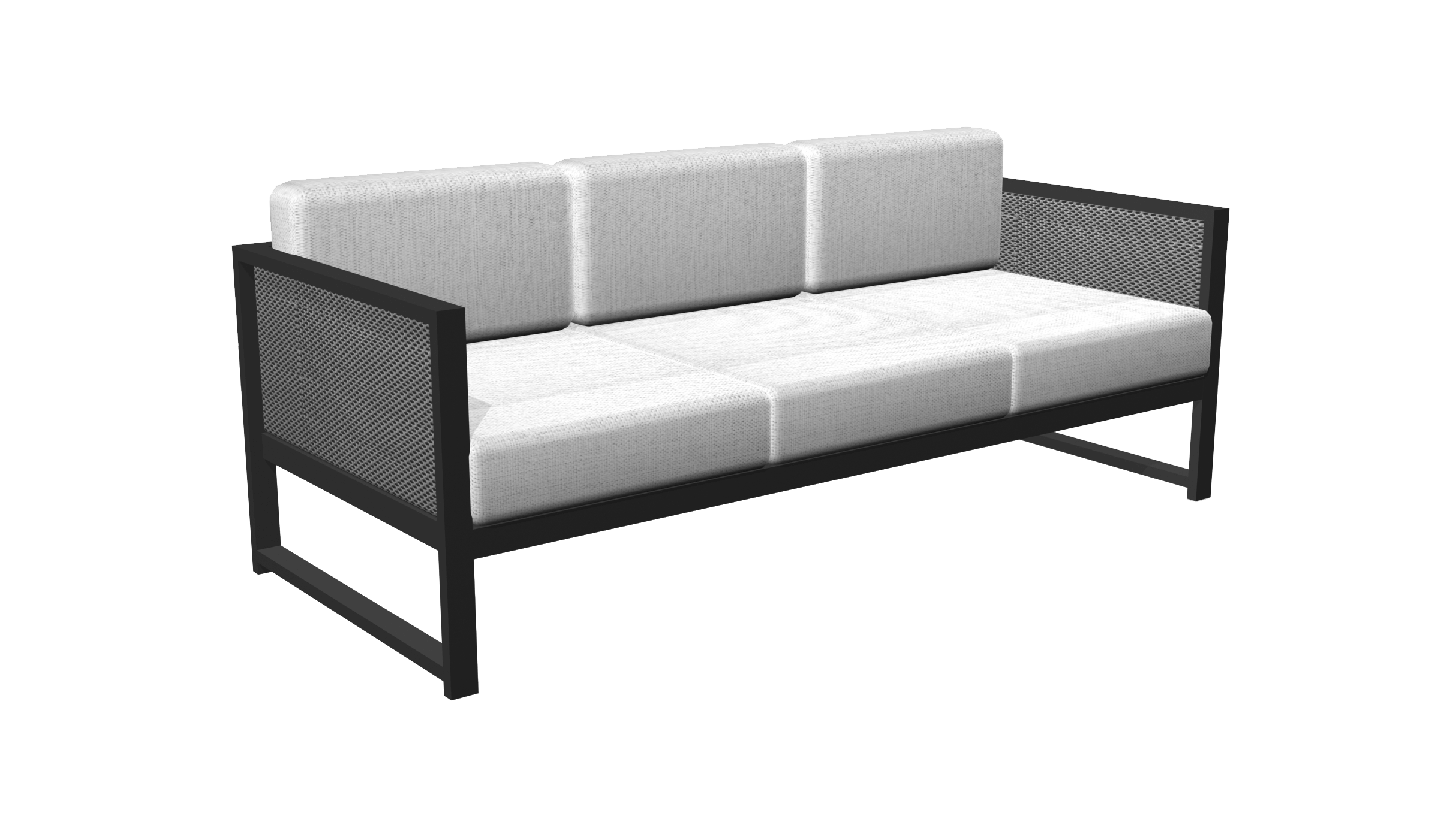 Madrid Sofa ub Black