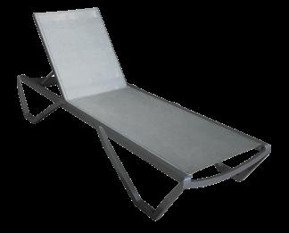 Beach Black Chaise Lounge