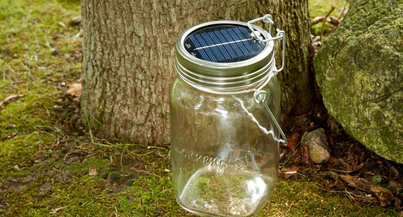 Sonnenglas Solar Lamp