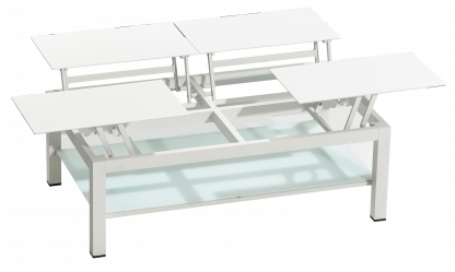 4TOP Coffee Table in White