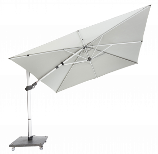 Orion Cantilever Stainless Steel Frame with White Hood