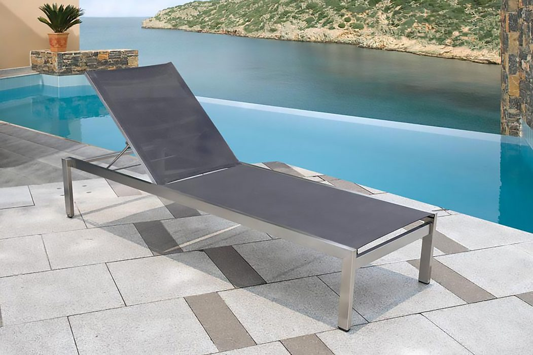 Sonoma Chaise Lounge in Silver
