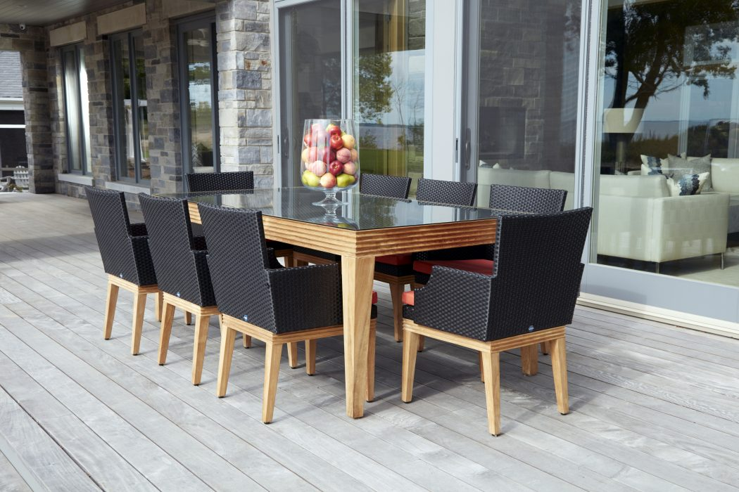 Woodfield Dining Arm Chairs in Black