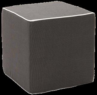 Custom Outdoor Fabric Cube Pouf