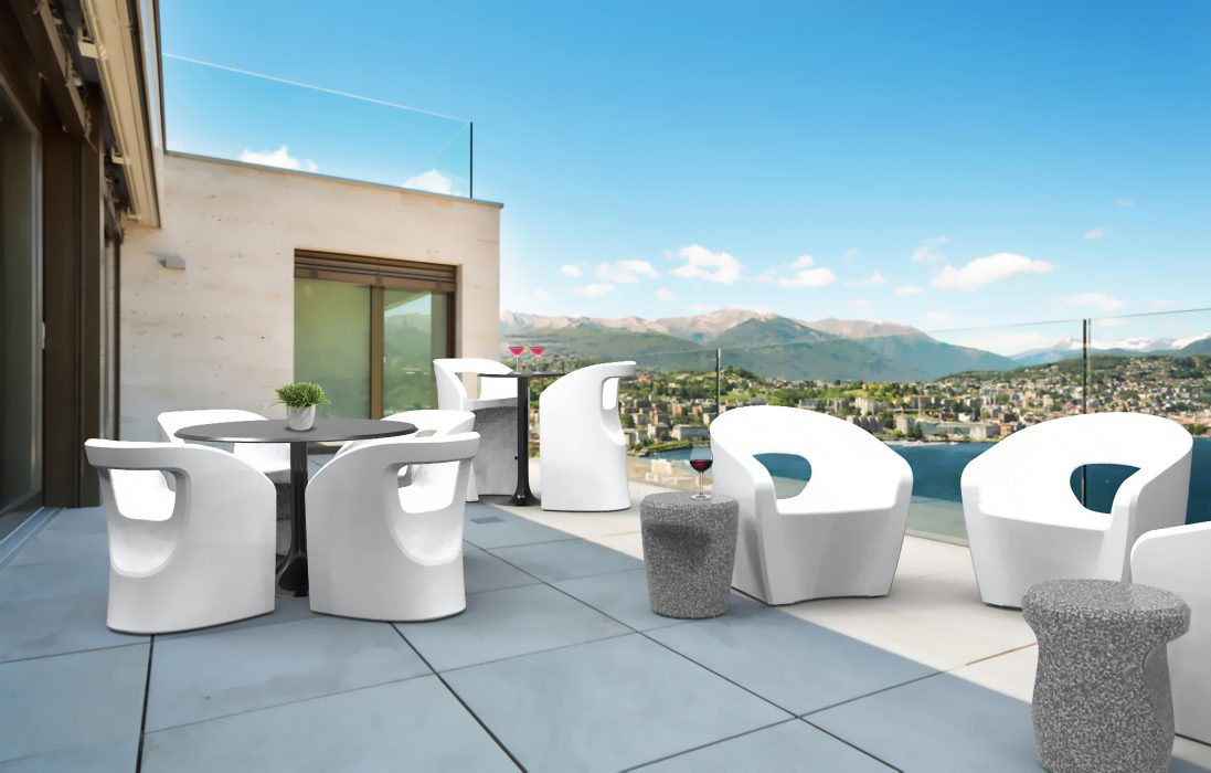 Bistro Collection in White