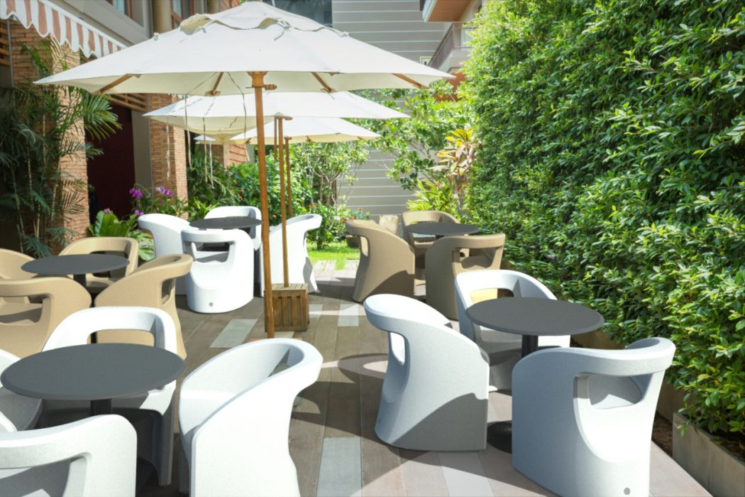 Bistro Dining Arm Chairs