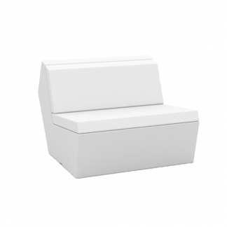 VONDOM Faz Sectional Armless Slipper Module