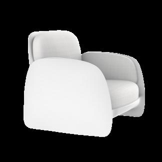 VONDOM Pezzettina Club Chair in White