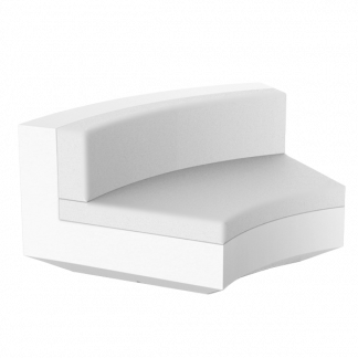 VONDOM Vela Sectional Curved Corner Module