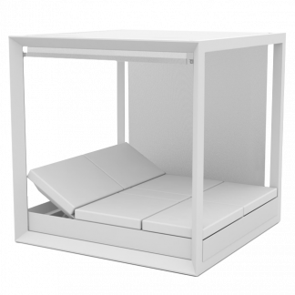 VONDOM Vela Square Daybed with a Canopy