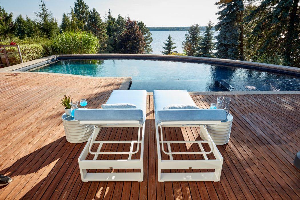 Nevis Chaise Lounges