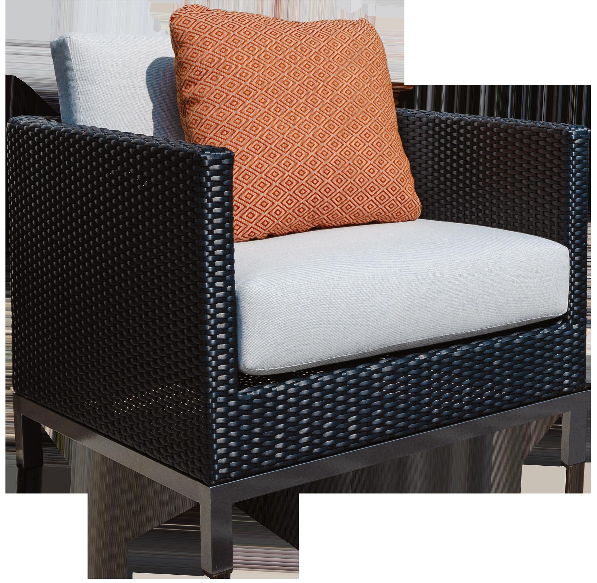 Alta Club Chair in Black