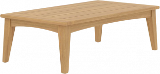 Bayside Teak Rectangular Coffee Table