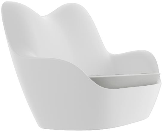 VONDOM Sabinas Sofa in White