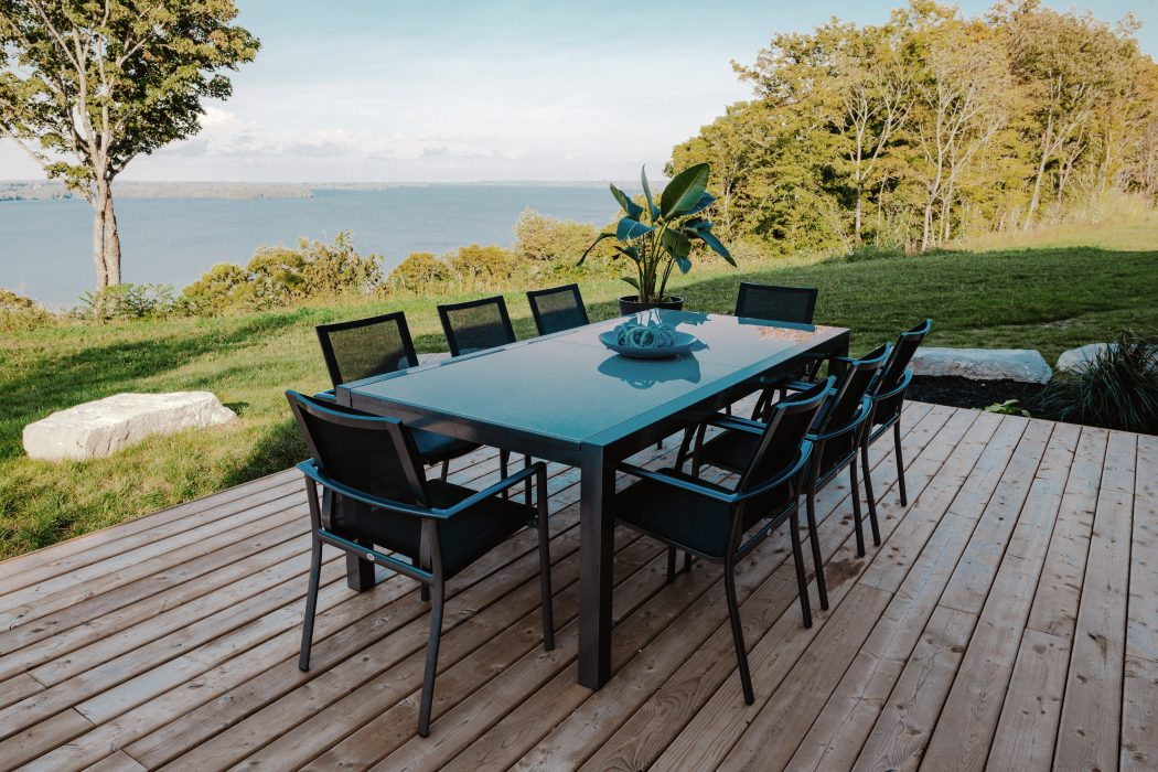 Marlo Extension Dining Table and Seville Dining Arm Chairs