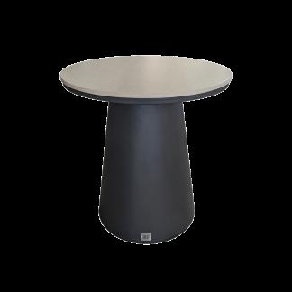Flo Round End Table Black