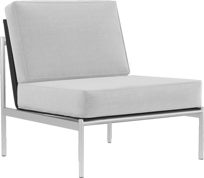 Catalina Sectional Armless Slipper Module