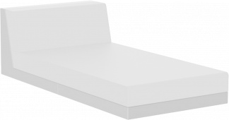 Pixel Chaise in White