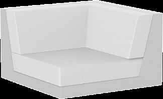 Pixel Corner in White