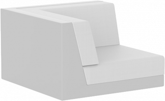 Pixel Left Arm in White