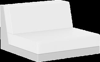 Pixel Armless Slipper in White