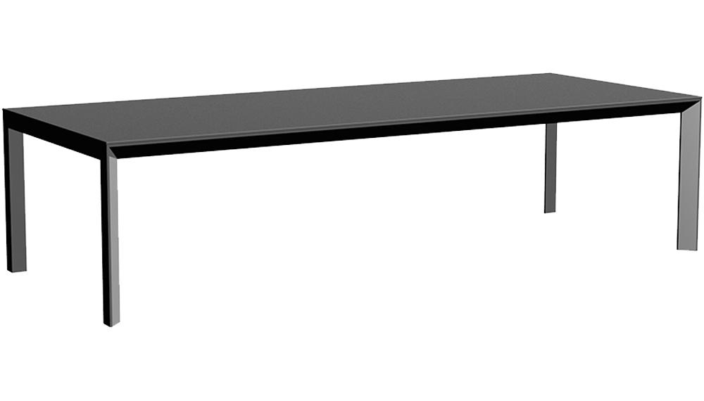 """VONDOM Frame 118"""" Dining Table"""
