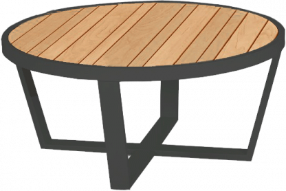 Facile Round Coffee Table