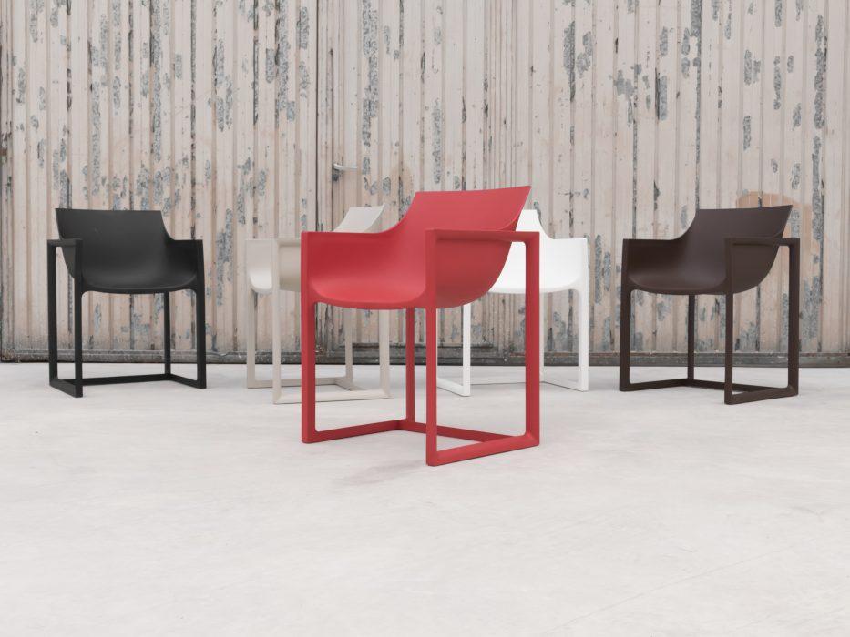 VONDOM Wall Street Dining Arm Chair