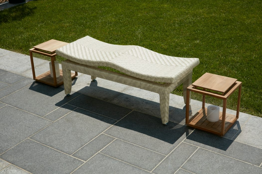 Carly Two Seater Bench in White