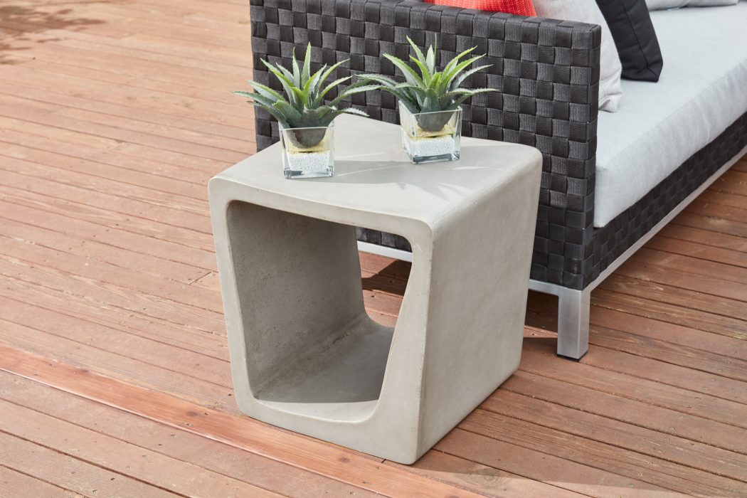 Darwin Concrete Side Table
