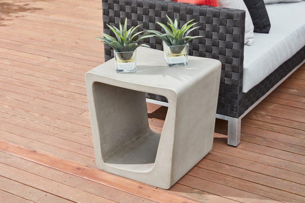 Darwin Concrete Side Table