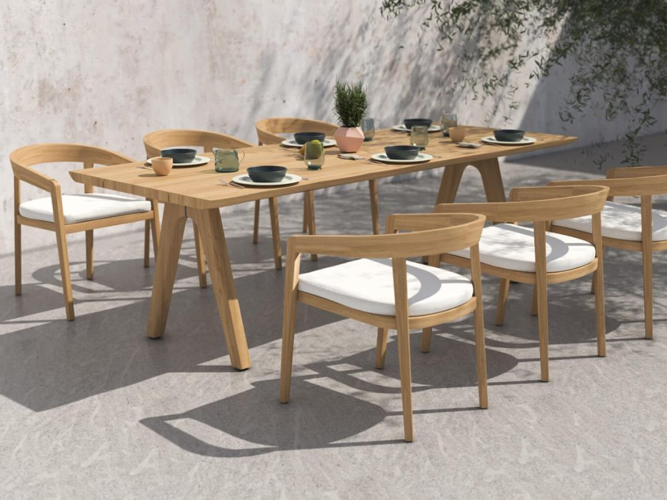 Bayside Dining Arm Chairs