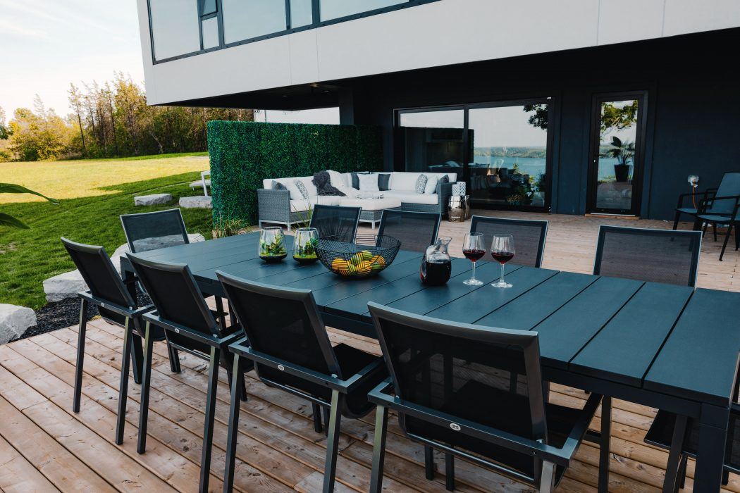 Milano Dining Table with Madrid Dining Chairs