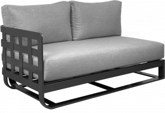 Soho Sectional Right Arm Module in Pewter