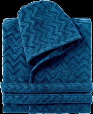 Missoni Home Rex Bathrobe in Blue