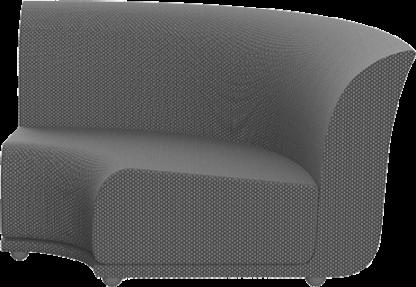VONDOM Suave Sectional Curved Corner Module