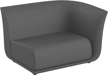 VONDOM Suave Sectional Left Arm Module