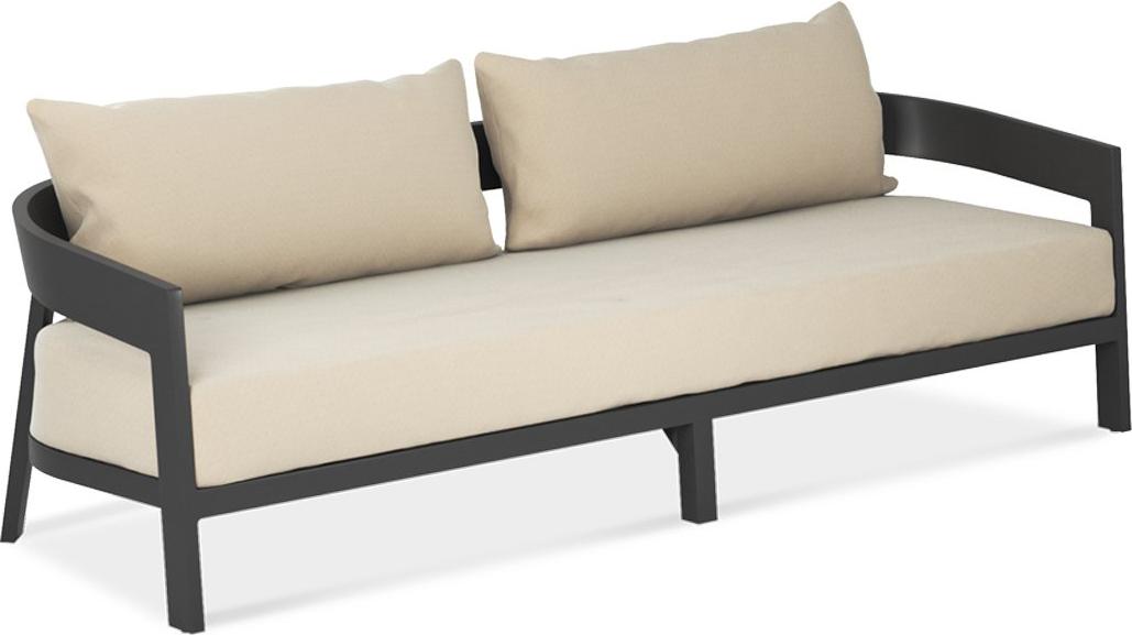 Vento Sofa in Pewter