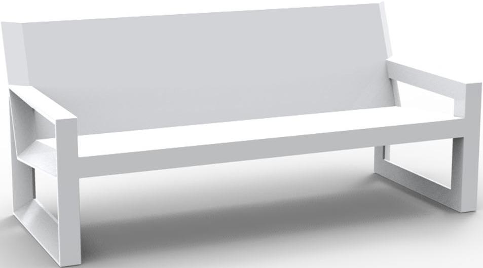VONDOM Frame Sofa in White