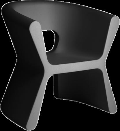 VONDOM Pal Arm Chair in Anthracite