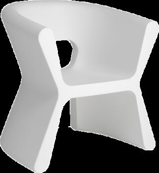 VONDOM Pal Arm Chair in White