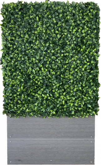 Artificial Hedge with Planter