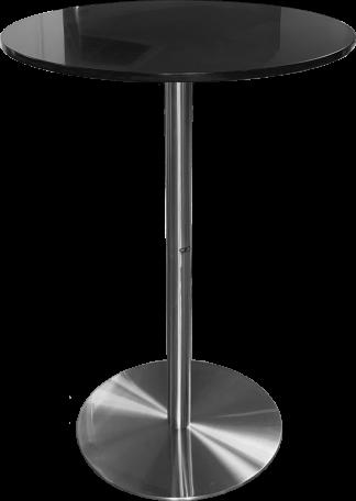 Honeycomb Round Pedestal Bar Table