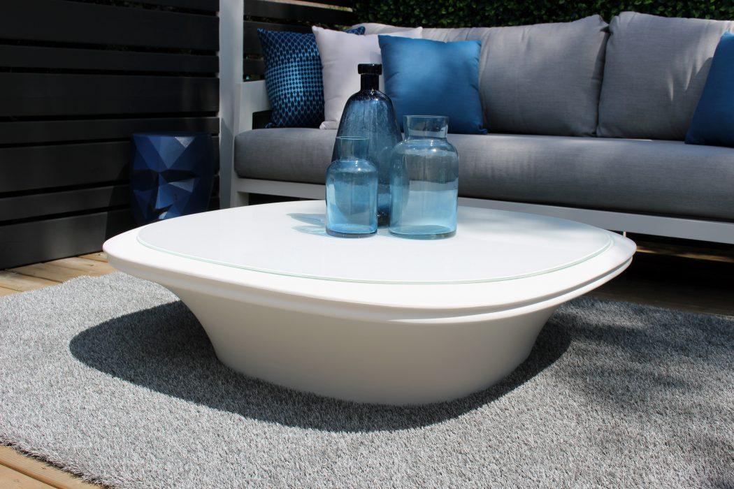 VONDOM UFO Coffee Table in White