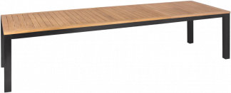 Forza Teak and Aluminum Extension Dining Table