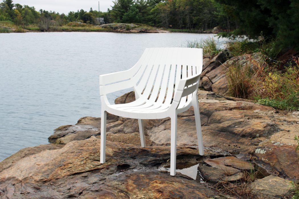VONDOM Spritz Club Chair in White
