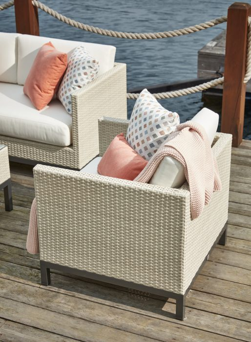 Alta Deep Seating in Ivory